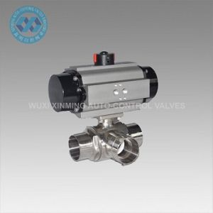 Double Acting/ Spring Return Pneumatic Actuator Valve pictures & photos
