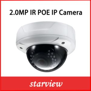 2.0MP 1080P Web Vandalproof IR Dome Network IP Digital Camera pictures & photos
