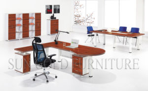 Modern Design Office Desk MDF Small Table Ikea Home Furniture pictures & photos