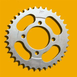 Reliable Supplier Sprocket, Motorcycle Sprocket for Motorcycle Part Web100-36t pictures & photos