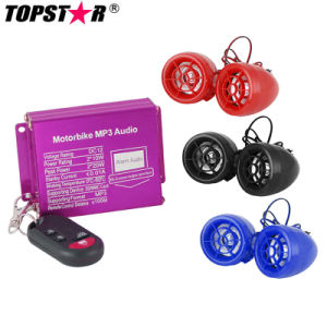 Wireless Alarm System Motorcycle MP3 Audio pictures & photos