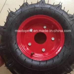 Maxtop 350-6 pneumatic Rubber Wheel pictures & photos