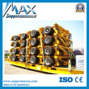 Multi Axles Hydraulic Walking Axles Heavy Duty Semi Trailer pictures & photos