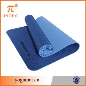 Double Color TPE Foam Cheap Yoga Mat pictures & photos