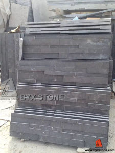 Honed Bluestone / Blue Limestone Culture Stone for Wall Cladding pictures & photos