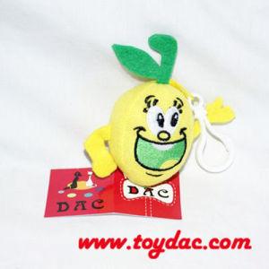 Plush Fruit Lemon Key Ring pictures & photos