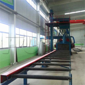 Roller Conveyor H Beam Steel Shot Blasting Machine (Q69H) pictures & photos