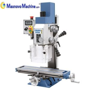 Vertical Benchtop Metal Mini Drilling Milling Machine (mm-BF16Vario) pictures & photos