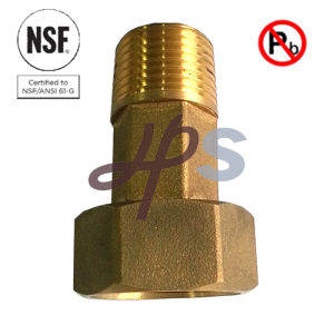 Eco Free Lead Brass Water Meter Tailpiece Stock pictures & photos