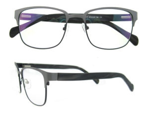Wenzhou New Model Unsex Large Stainless Eyeglasses Frame for Optical Glasses pictures & photos