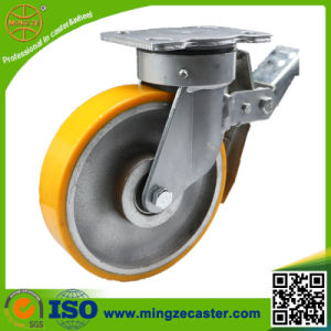 Heavy Duty Warehouse Case Brake Caster pictures & photos