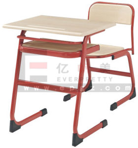 Hot Sale School Furniture Cheap Wooden School Tables and Chairs pictures & photos