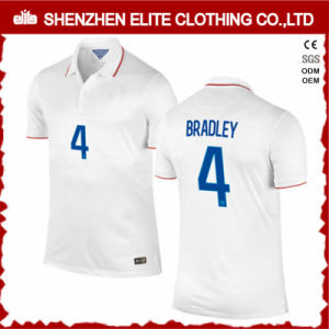 Men White Cheap Soccer Jersey Numbers Custom pictures & photos