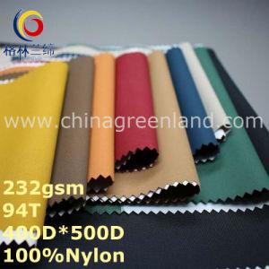 500d Nylon Taffeta Waterproof Oxford Fabric for Textile (GLLML291) pictures & photos