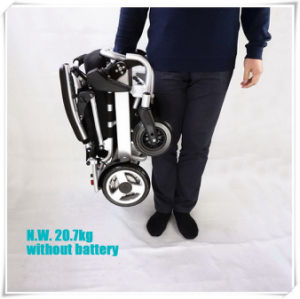 Tiny 5 Folding Electric Wheelchair pictures & photos