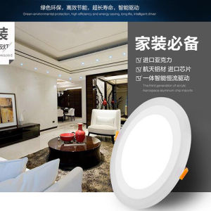2016 Hot Sale 3W-24W Pkw Aluminum LED SMD Panel Light pictures & photos