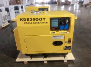 AC Single Phase 3kw Silent Mobile Diesel Generator Set