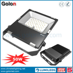 Low Price High Quality High Lumen 110lm/W Philips SMD 3030 50W Mini LED Flood Light pictures & photos