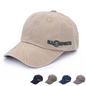 Custom Embroidered Cotton Promotional Baseball Cap (YKY3082) pictures & photos