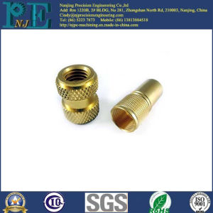 Made in China Customized Aluminum CNC Machining Knurl Fittings pictures & photos