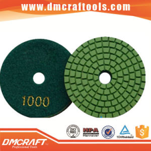 7 Inch Diamond Polishing Pad for Curved Surface pictures & photos