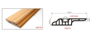 70mm Floor PVC Skirting Boards Various Colors Available pictures & photos