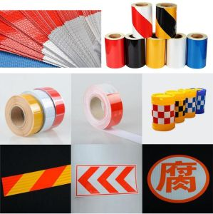 Reflective Material for Temporary Safety Signs pictures & photos