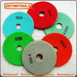Great Flexible Performance Diamond Floor Stone Polishing Discs pictures & photos
