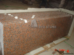 G562 Maple Red Granite Countertop for Kitchen Project pictures & photos