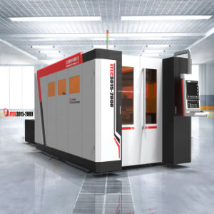 High-Speed Gantry CNC Fiber-Optic Laser Cutting Machine