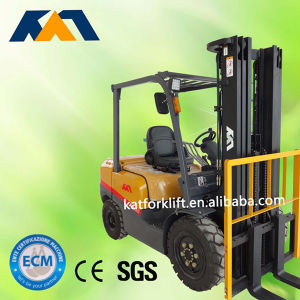 Japanese Engine New Automatic 2-4tons Diesel Forklift Made in China pictures & photos