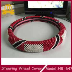 High Quality Flag Bead Car Steering Wheel Cover