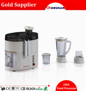 Geuwa 4 in 1 Multifunctional Home Used Food Processor Electric J26A pictures & photos