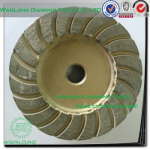 4 Inch Diamond Cup Grinding Wheel for Concrete Grinding, Floor Grinding Tools in Angle Grinder pictures & photos