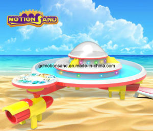 UFO Amusement Park Equipment-Kinetic Sand Display Table Motion Sand DIY Educational Toys Playing Center