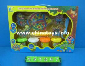 Hot Sale Educational Toys DIY Birthday Cakes Plasticine Clay Mud for Kid with En71 (251367) pictures & photos