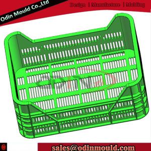 Hot Runner Plastic Fruit Crate Mould Injection (PP) pictures & photos