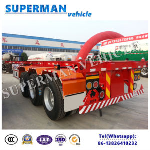 40FT Three Axle Skeleton Frame Semi Truck Trailer for Sales pictures & photos