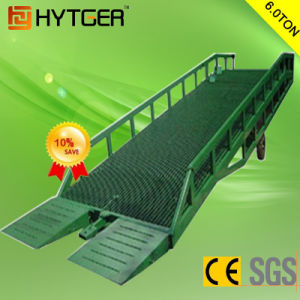 6 Ton China Durable Mobile Hydraulic Dock Ramp pictures & photos