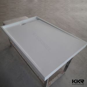 Kkr Artificial Marble Stone Bathroom Furniture Shower Tray (SB1704182) pictures & photos