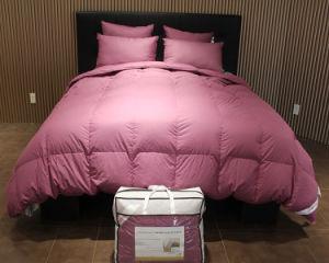 Luxury White Goose Down Comforter for 5 Stars Hotel