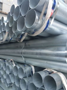 Large Stock Hot Galvanized ERW Welded A106 Grade Carbon Steel Pipes pictures & photos