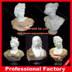 David Marble Bust Statue Head Sculpture Antique Marble Statues Bust Stone Carvings pictures & photos