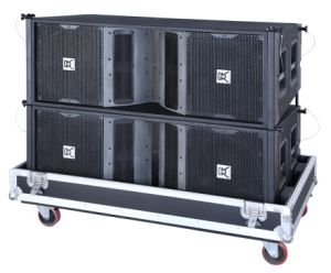 Cvr PRO Audio Dual Professional Line Array Speaker Cabinet+Sound System pictures & photos