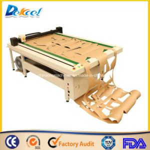 CNC Oscillating Blade Cutting and Creasing Corrugated Carton Box/Cardboard Cutter Plotter pictures & photos
