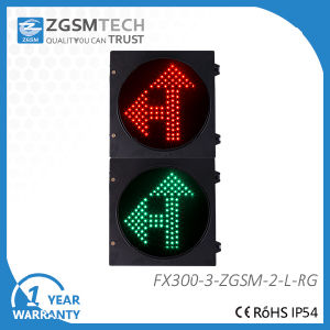 Red Green LED Arrow Traffic Light Go Straight and Turn Left