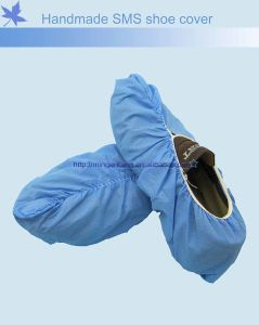 Household Fabric PP Non Woven Shoe Cover pictures & photos