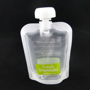 Food Grade Liquid Packaging Spout Pouch Plastic Nozzle Pouch pictures & photos
