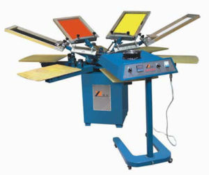 Spm Series Manual Textile Screen Printer pictures & photos