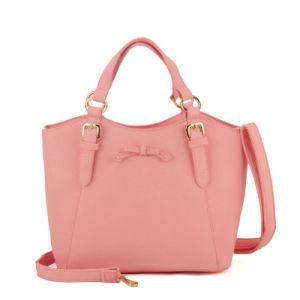 New Belt Buckle Handle Bowknot Ladies Handbag pictures & photos